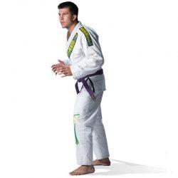 Στολή Brazilian Jiu-Jitsu Uniform Olympus White 550 gr Pearl