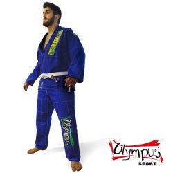 Στολή Brazilian Jiu-Jitsu Uniform Olympus Blue 550 gr Pearl