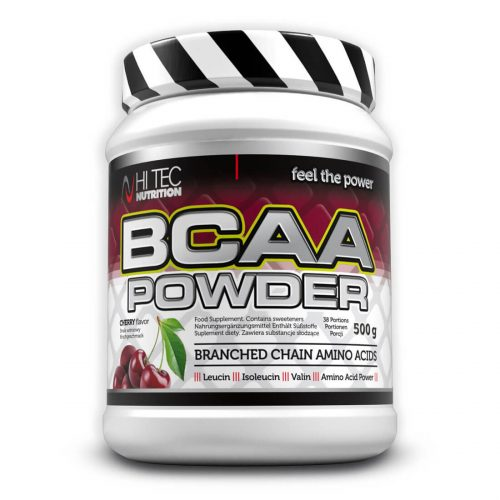 BCAA Powder 500gr Hitec Nutrition Cherry