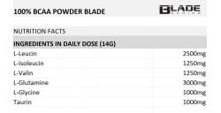 BLADE 100% BCAA POWDER