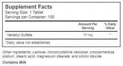 Ultimate Nutrition Vanadyl Sulfate 75 cap