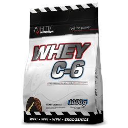 Hitec Nutrition Whey C-6 1000g Cookies