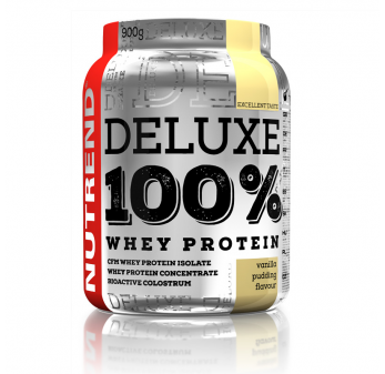 Deluxe 100% Whey Protein 900g (Nutrend) Pudding Vanilla