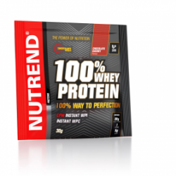 100% Whey Protein sachet 30gr (Nutrend) Chocolate cacao