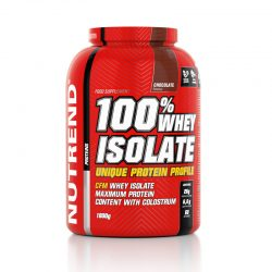 100% Whey Isolate 1.8kg (Nutrend)