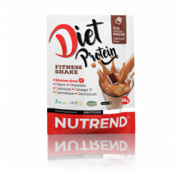 Diet Protein Fitness Shake 50g (Nutrend) Chocolate