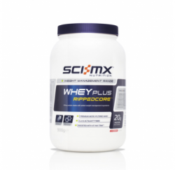 Whey Plus Rippedcore 900g (Sci-MX) Chocolate