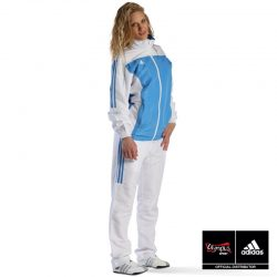Αθλητική Φόρμα TEAM White / Sky Blue - TR40 Adidas XSmall