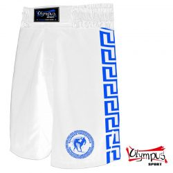 PANKRATION FIGHT TRUNK OLYMPUS WHITE/BLUE
