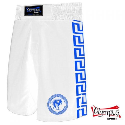 PANKRATION FIGHT TRUNK OLYMPUS WHITE/BLUE