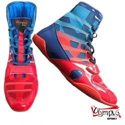 WRESTLING SHOES OLYMPUS ENERGY BLUE/RED