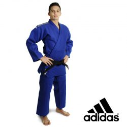JUDO UNIFORM ADIDAS J-IJF CHAMPION II IJF BLUE - IJF APPROVED 2018