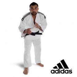JUDO UNIFORM ADIDAS J-IJF CHAMPION II IJF WHITE - IJF APPROVED 2018