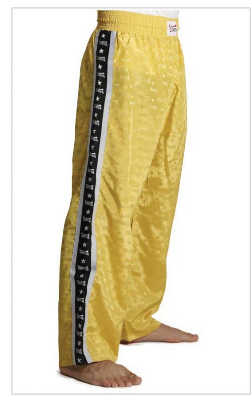Trousers Olympus Light Polyester Yellow