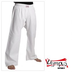 Trousers Olympus Cotton White