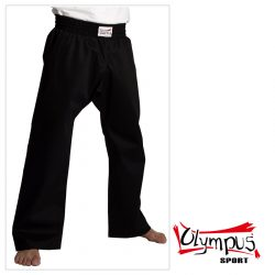 Trousers Olympus Cotton Black