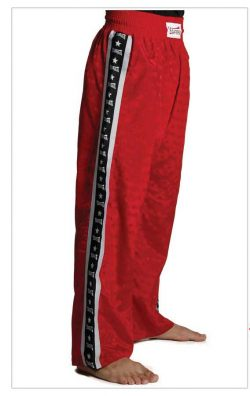 Trousers Olympus Light Polyester Red