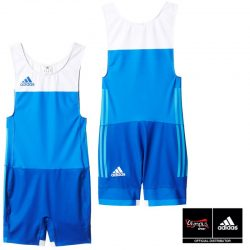 WRESTLING SUIT ADIDAS TECH-FALL MENS BLUE/WHITE - AP5657 Σύντομα Κοντά σας