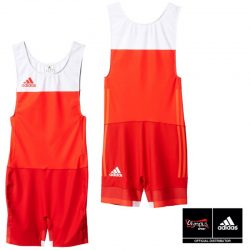 WRESTLING SUIT ADIDAS TECH-FALL MENS RED/WHITE - AP5656 Σύντομα Κοντά σας