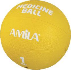 Medicine ball λάστιχο 1kg (44551)
