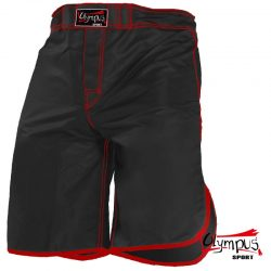 MMA FIGHT TRUNK OLYMPUS GRUNGE BLACK/RED