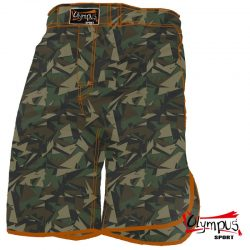 MMA FIGHT TRUNK OLYMPUS GRUNGE CAMO/ORANGE