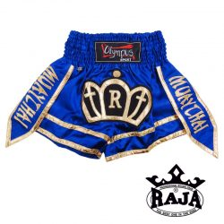 THAIBOXING SHORTS OLYMPUS BY RAJA WARRIOR BLUE - RTB-304