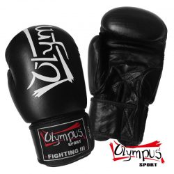 ΓΑΝΤΙΑ ΠΥΓΜΑΧΙΑΣ OLYMPUS - BOXING GLOVES OLYMPUS FIGHTING III LEATHER