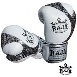 BOXING GLOVES RAJA LEATHER SNAKE VELCRO