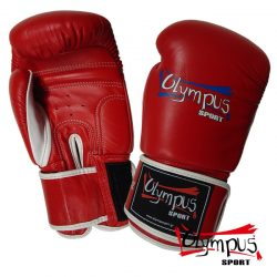 Boxing Gloves Olympus by RAJA Genuine Leather Double Color