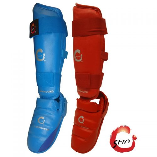 KARATE SHIN INSTEP GUARD SMA WKF APPROVED