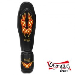 Shin-Instep Guard olympus KING PVC - BURNING TRIBAL