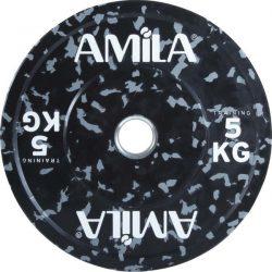Δίσκος 45mm δίχρωμος 5kg Amila 84803