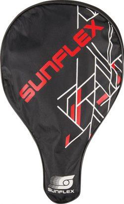 Θήκη ρακέτας Ping Pong με μπαλάκια Sunflex 42538