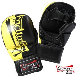 MMA GLOVES OLYMPUS DOUBLE COLOR THUMP PROTECTION PU