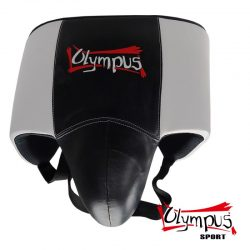 Groin Guard Olympus Abdominal Protection Boxing NO-FOUL Black/White