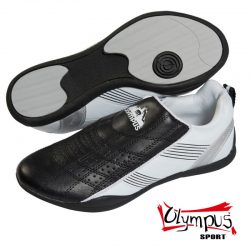 Training Shoes Olympus - KICK LIGHT (White with black / silver stripes)