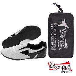Παπούτσια προπόνησης Olympus - SHINY White / Black