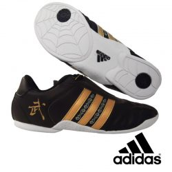 Wu-Shu Shoes adidas Black - Golden Stripes