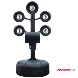 FREE STANDING HEAVY BOXING TRAINER AZUNI 5 TARGET TREE - PA-5189