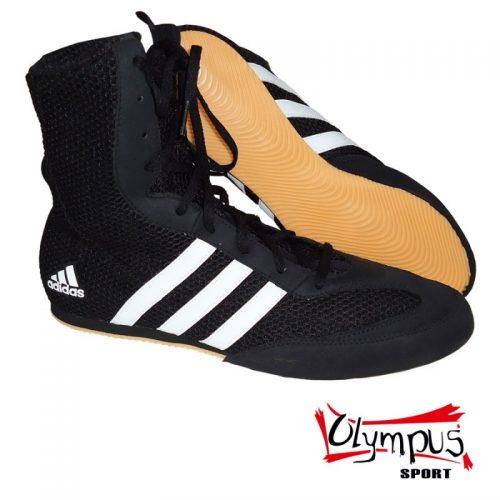 ΠΑΠΟΥΤΣΙΑ ΠΥΓΜΑΧΙΑΣ ΜΑΥΡΑ Boxing Shoes Adidas HOG Black