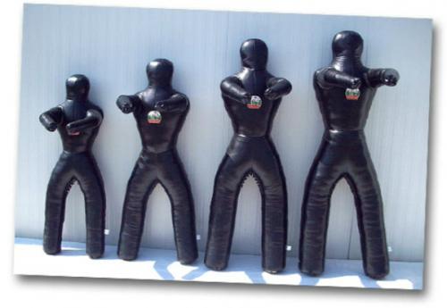 Δερμάτινη Κούκλα Ελευθέρας 15 Κιλά Extra Small Μαύρο