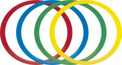 Επίπεδα δαχτυλίδια ελέγχου και ισορροπίας (12 τμχ.) Amila 48591