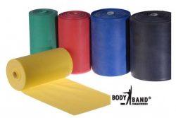 Λάστιχο Γυμναστικής Body Concept BL BODY BAND 25m 100mm Κόκκινο/Ελαφρύ