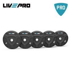Bumper Plate (Δίσκος 5,10,15,20,25 κιλών) Live Up Pro