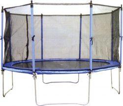 Τραμπολίνο 244cm με δίχτυ, Amila, 44594+44595