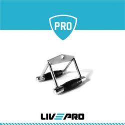 Τριγωνική λαβή προπόνησης πλάτης Β 8192g LivePro