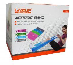 Λάστιχο Ενδυνάμωσης Λάστιχο Aerobic (κορδέλα) 12 τεμάχια Live Up