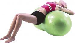 Μπάλα pilates (Σχήμα Φιστίκι) 50cm AMILA 48096