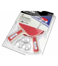Ρακέτες Ping Pong Match με Μπαλάκια Kettler 7091-500